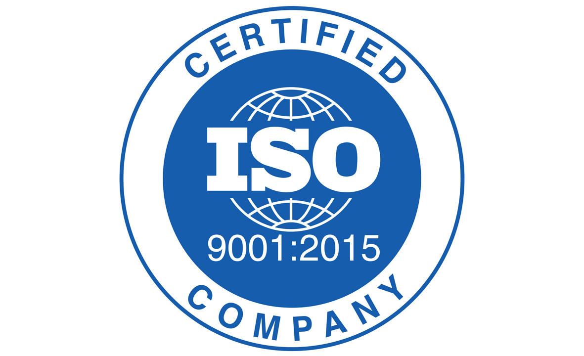 ISO 9001 2015 w - ISO 9001 Certification - International Standards Of Service For Globital Clients